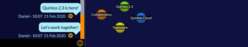 quirkos 2.3 with chat