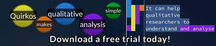 qualitative research software - quirkos
